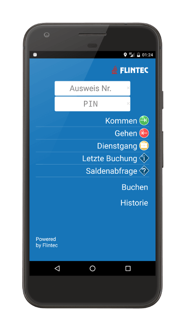 Mobile Zeiterfassung per Android App